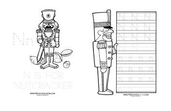 image regarding Nutcracker Worksheets Printable identified as Nutcracker Preschool Printables - Preschool Mother