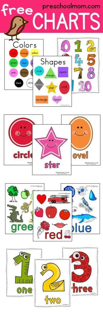 picture about Printable Shapes for Toddlers named Condition Preschool Printables - Preschool Mother