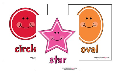 picture regarding Printable Shapes Chart named Form Preschool Printables - Preschool Mother