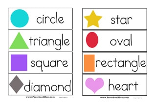 picture relating to Printable Shapes for Preschoolers titled Condition Preschool Printables - Preschool Mother