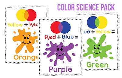 Color Preschool Printables - Preschool Mom