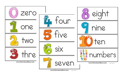 picture relating to Free Printable Number Cards 1-20 identify Quantity Preschool Printables - Preschool Mother