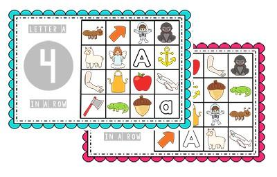 photograph relating to Alphabet Bingo Printable named Totally free Preschool Bingo Video games - Preschool Mother