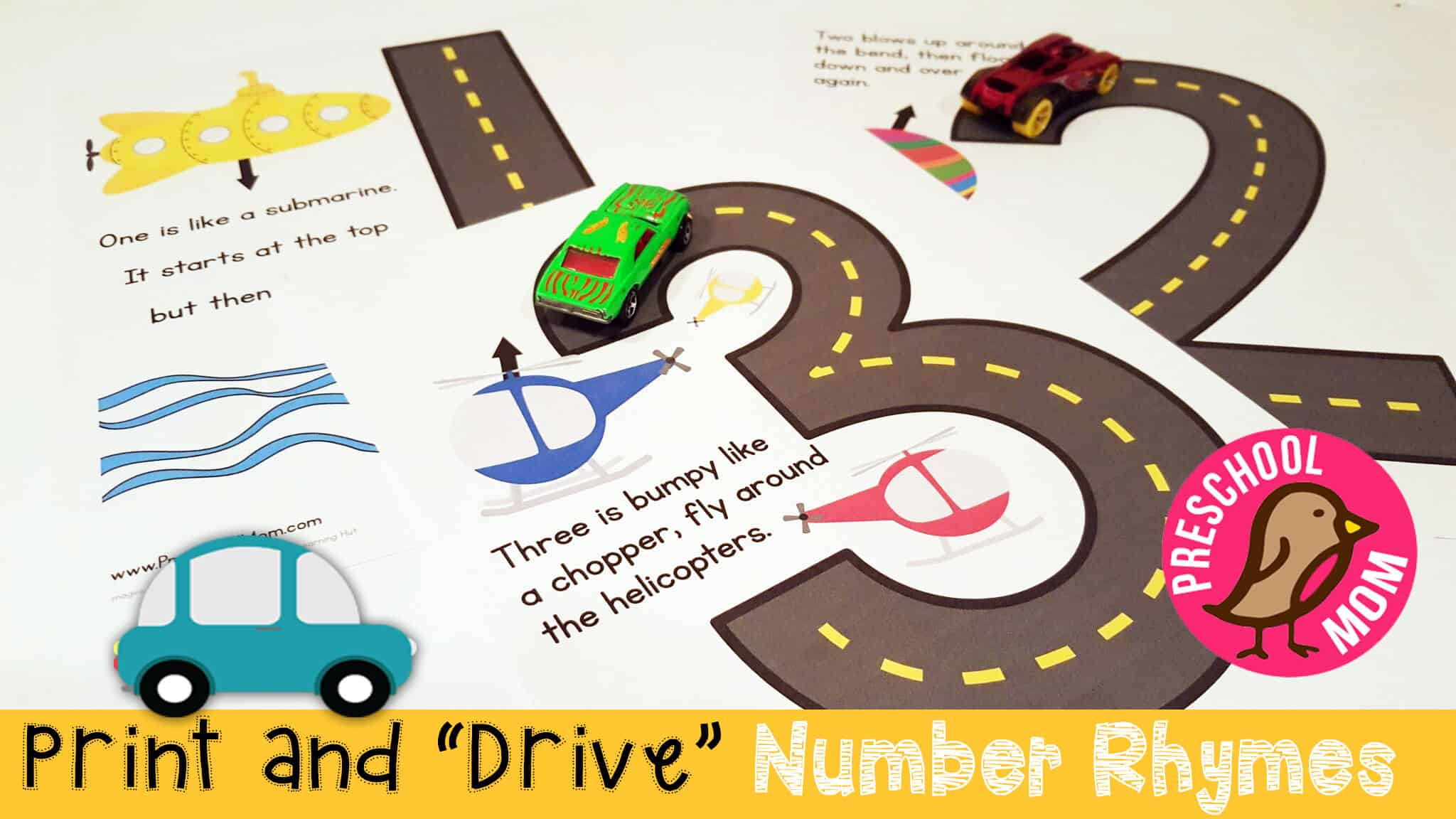 Transportation Preschool Printables