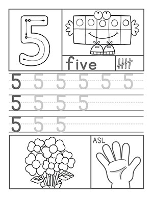 15+ Preschool Worksheets On Numbers Illustration