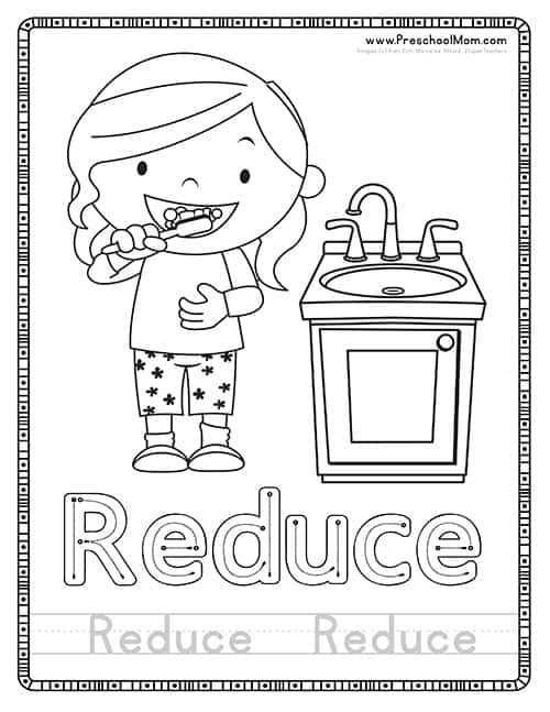 Recycling Coloring Page by YouthStrong | Teachers Pay Teachers | 647x500