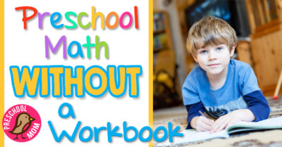 Preschool Math without a Workbook