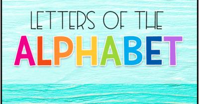 Letter Recognition for Preschool