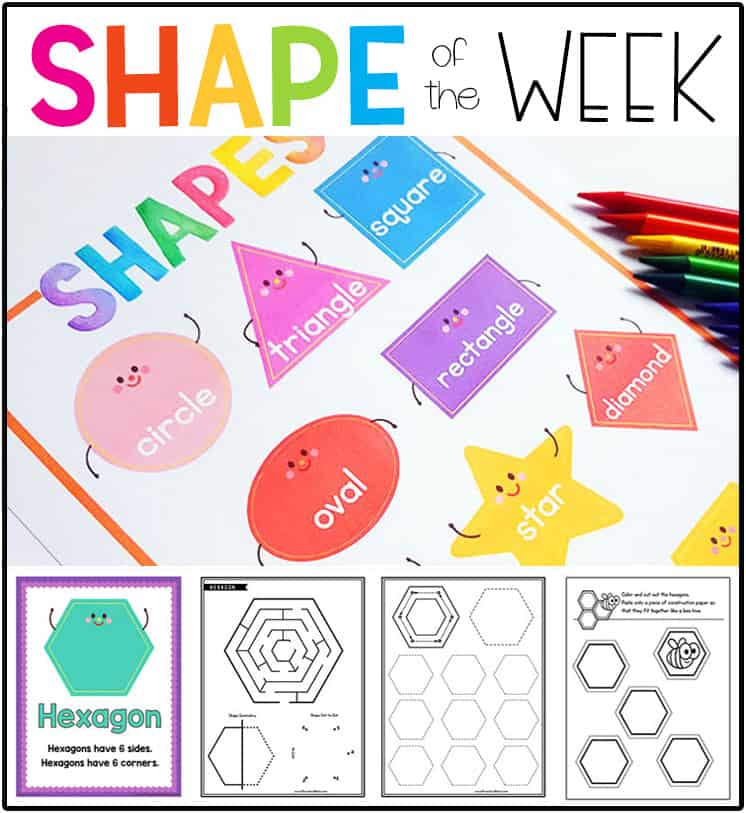 Shape Preschool Printables Preschool Mom