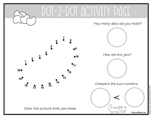 photograph regarding Jesus Dot to Dot Printable identify Easter Dot in direction of Dot Preschool Worksheets - Preschool Mother
