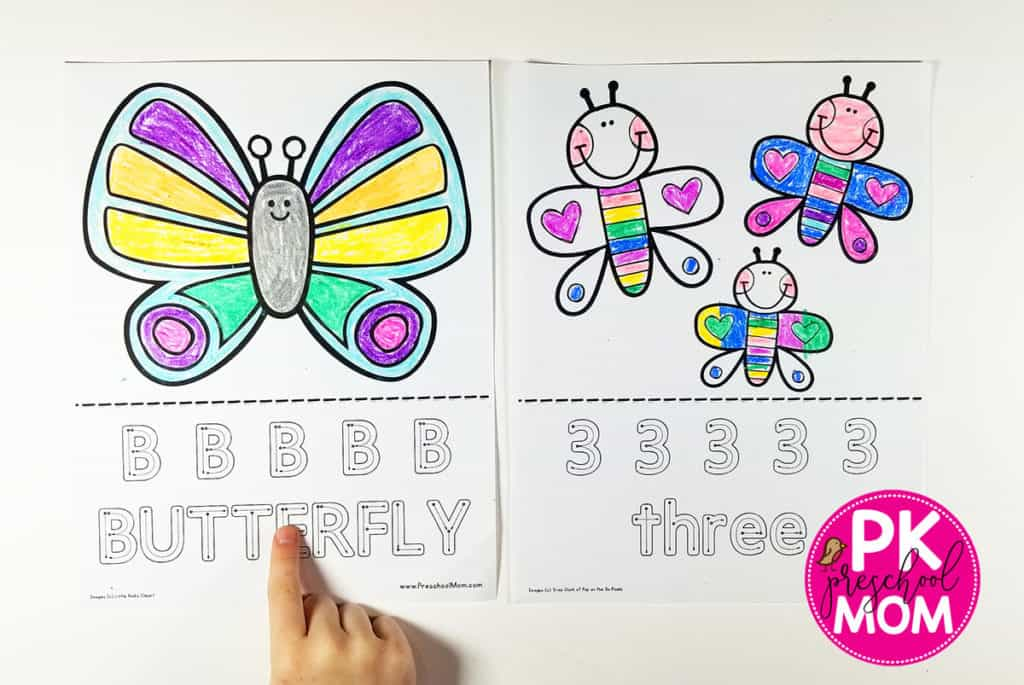Simple Butterfly Coloring