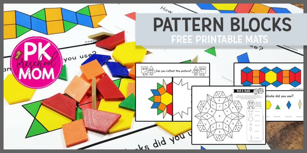 image about Printable Pattern Blocks called Behavior Blocks - Preschool Mother