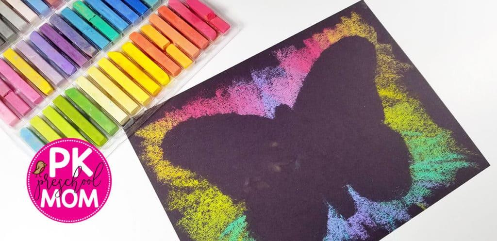 Butterfly Art Project for Kids - Preschool Mom