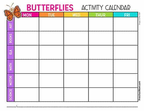 ButterflyThemePreschool
