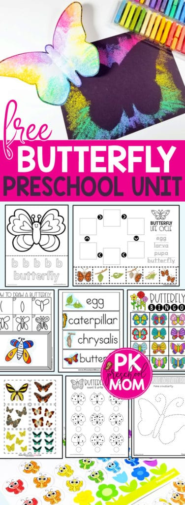 picture relating to Memory Community Helpers Free to Printable Coloring Pages referred to as Butterfly Preschool Printables - Preschool Mother