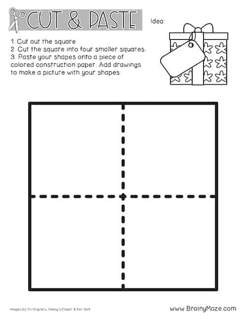 image about Rectangle Printable identified as Designs Archives - Preschool Mother
