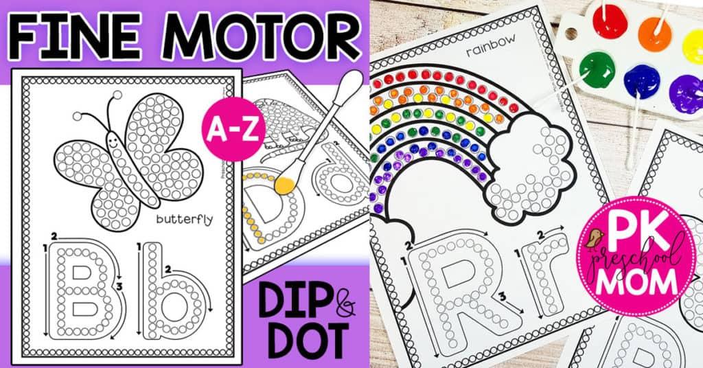 Fine Motor Activities for Preschoolers - Preschool Mom