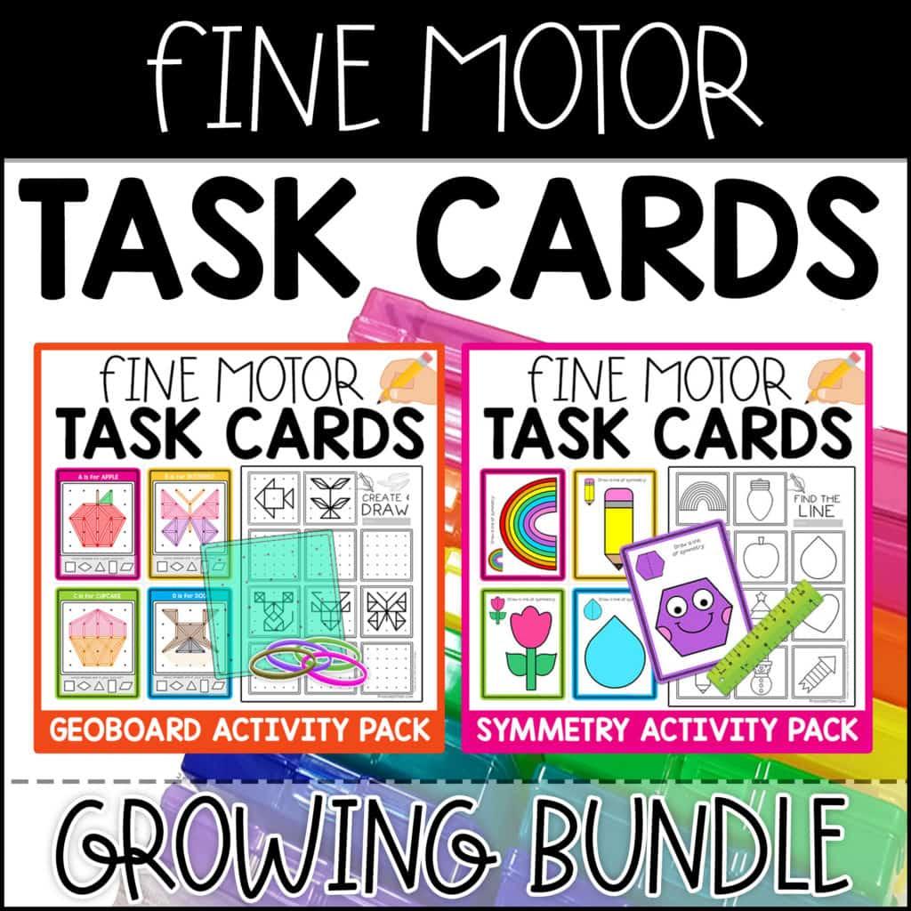 Fine Motor Task Cards