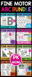 Fine Motor Alphabet Bundle