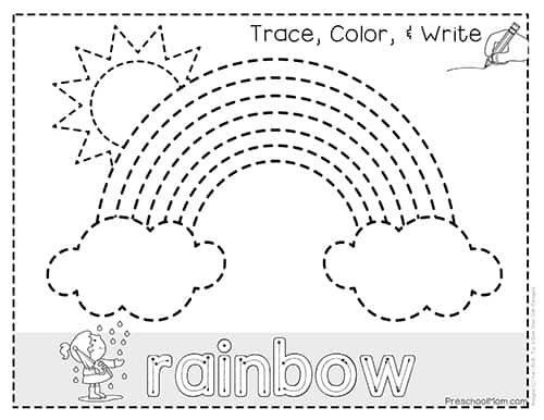 Free Printable Kindergarten St Patricks Day Worksheets