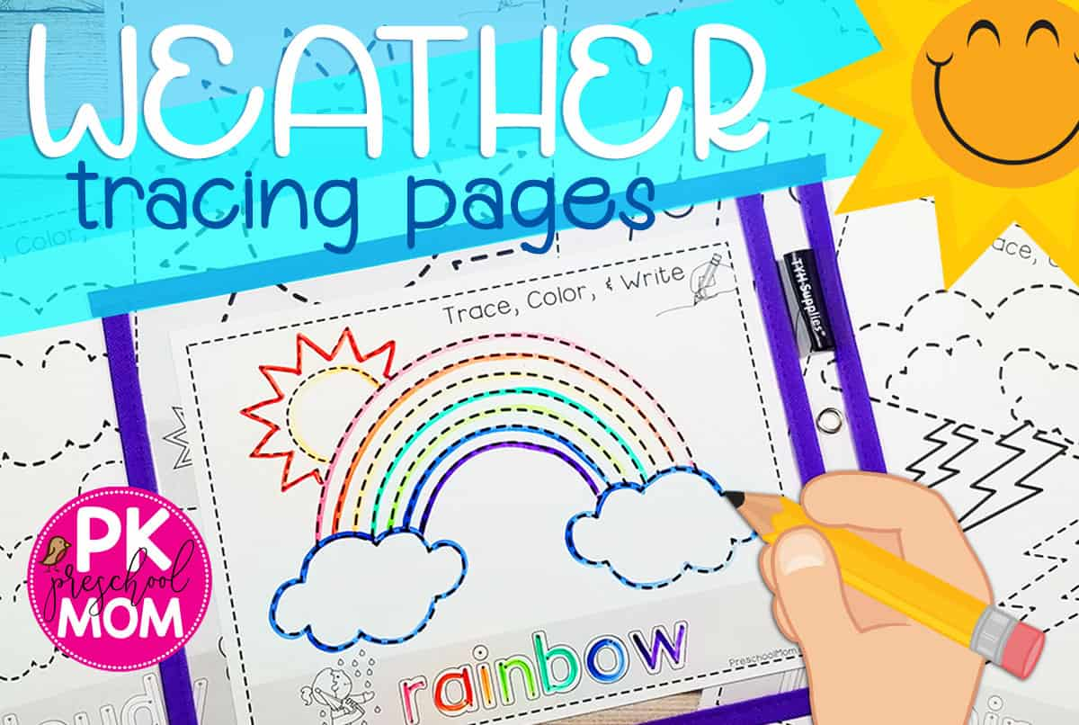 Printables To Teach Kids About The Weather