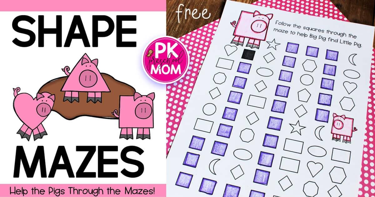 Farm Preschool Printables - Preschool Mom