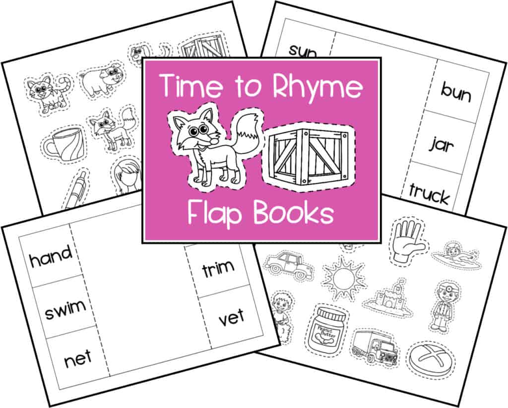 Rhyming Activities for Preschoolers