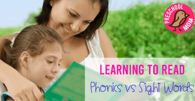 Learning to READ: Phonics vs. Sight Words