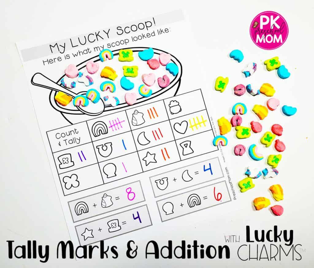Homeschool Printables Preschool Activities St Matching Lucky Charms Print Sorting Printable Motor Skills Teacher Patrick/'s Day Game