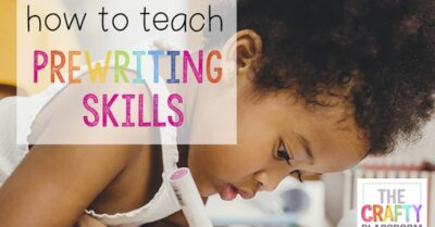PreHandwriting Skills to Start Now