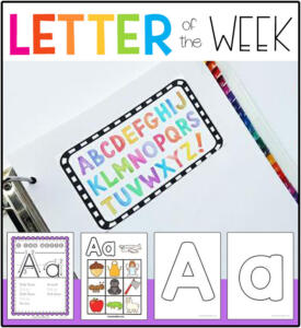 Letter of the Week Preschool