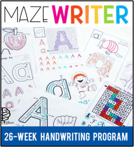 MazeWriterHandwritingProgram