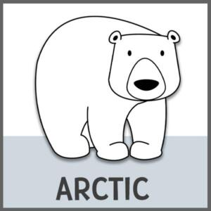 Arctic Preschool Printables