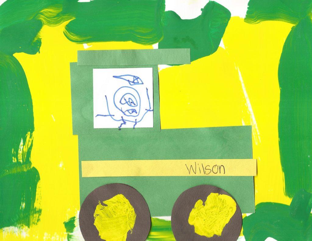 Nothing Runs Like A Prek John Deere Tractor On A Farm Field