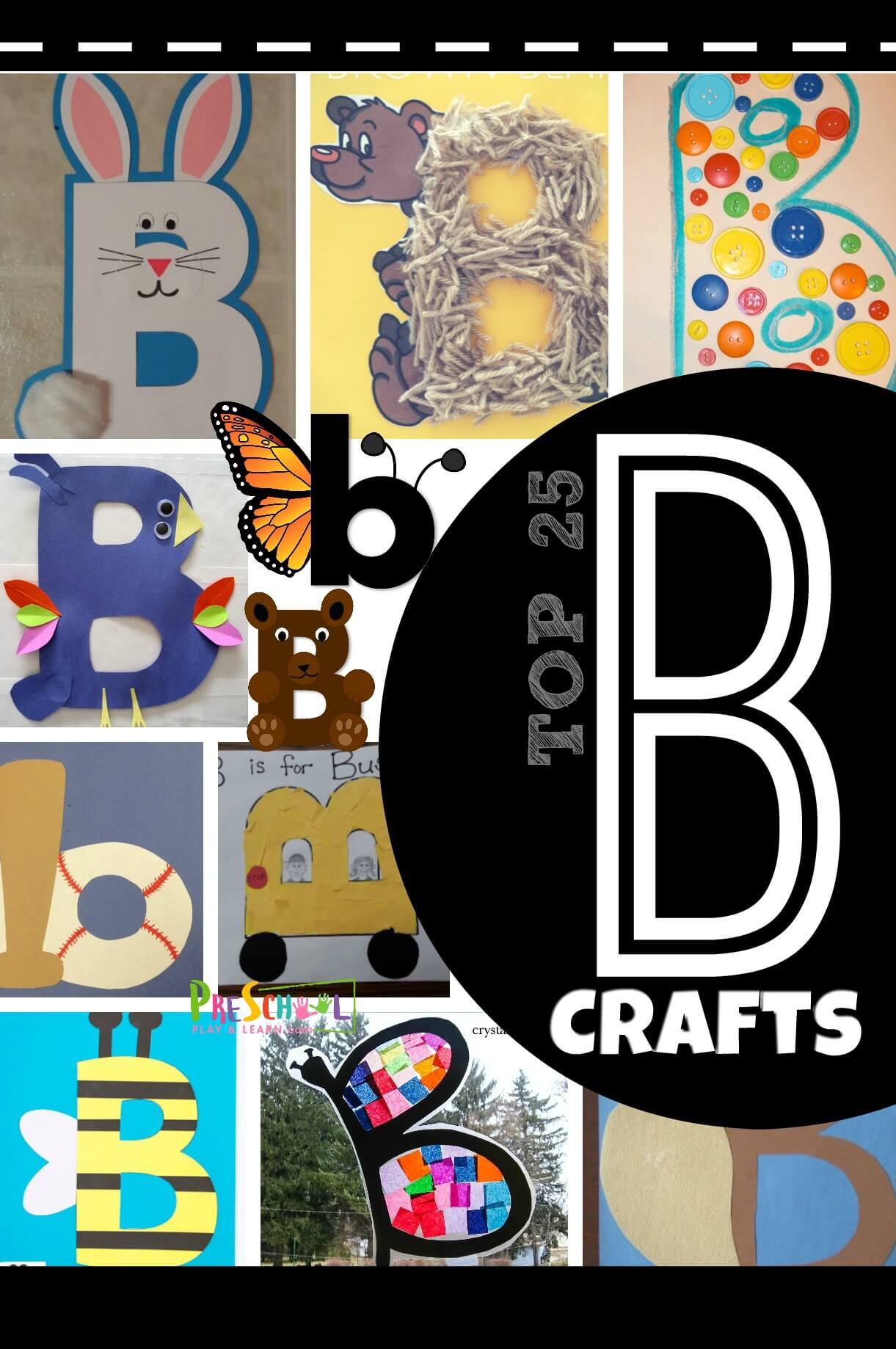 Top 25 Letter B Crafts