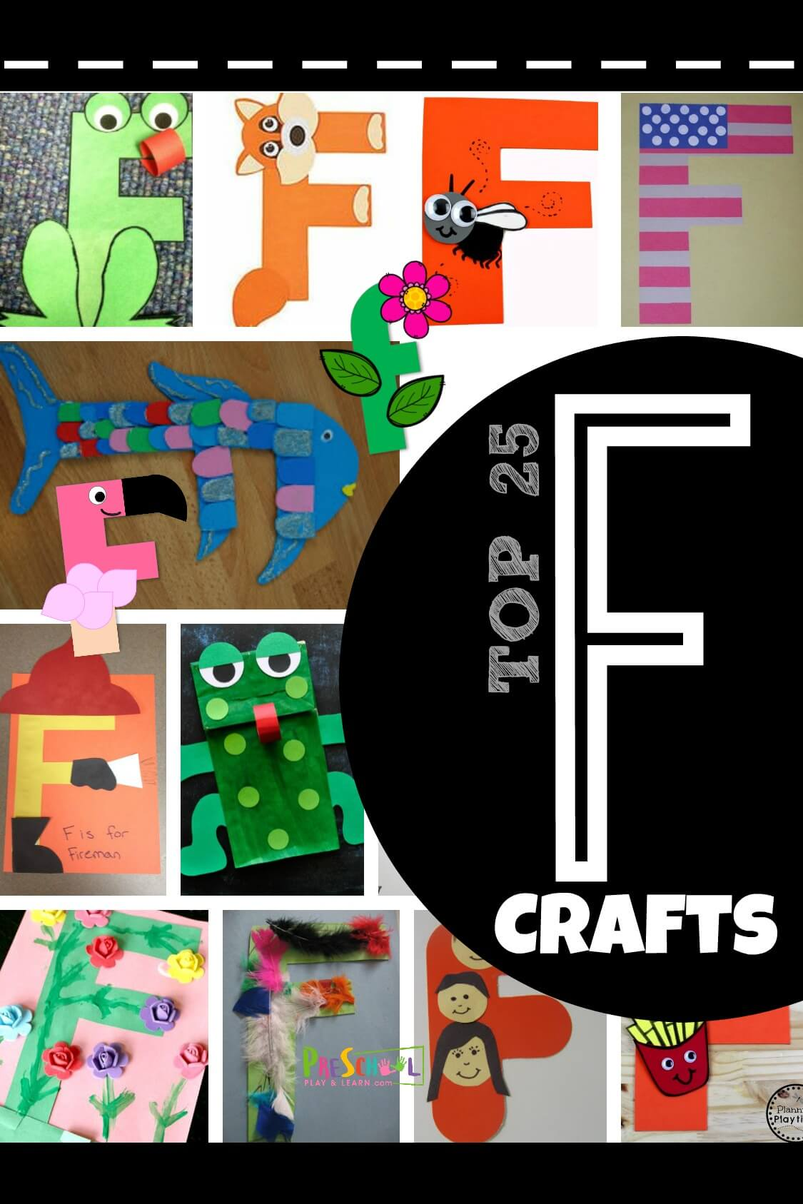 Top 25 Letter F Crafts