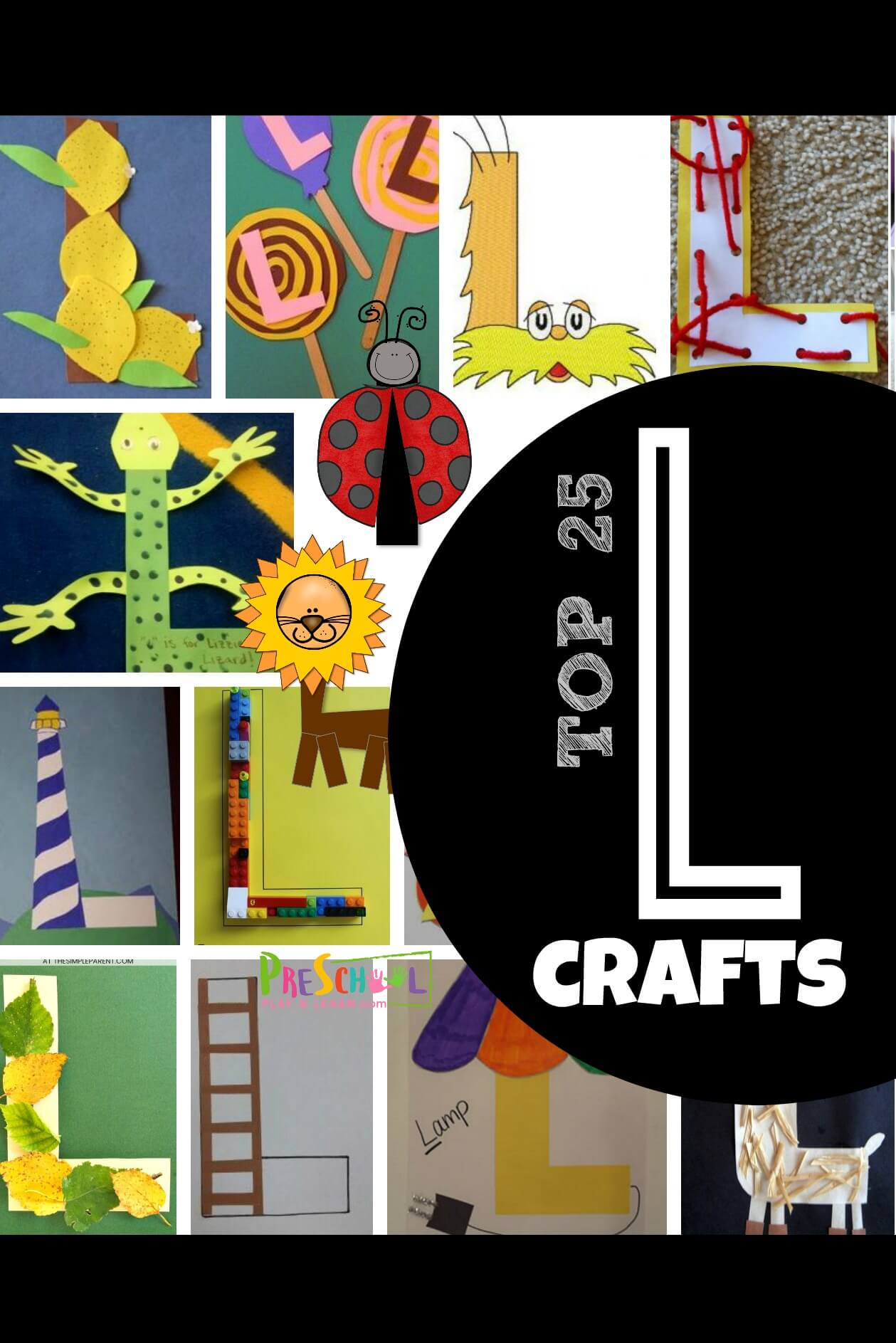 Top 25 Letter L Crafts