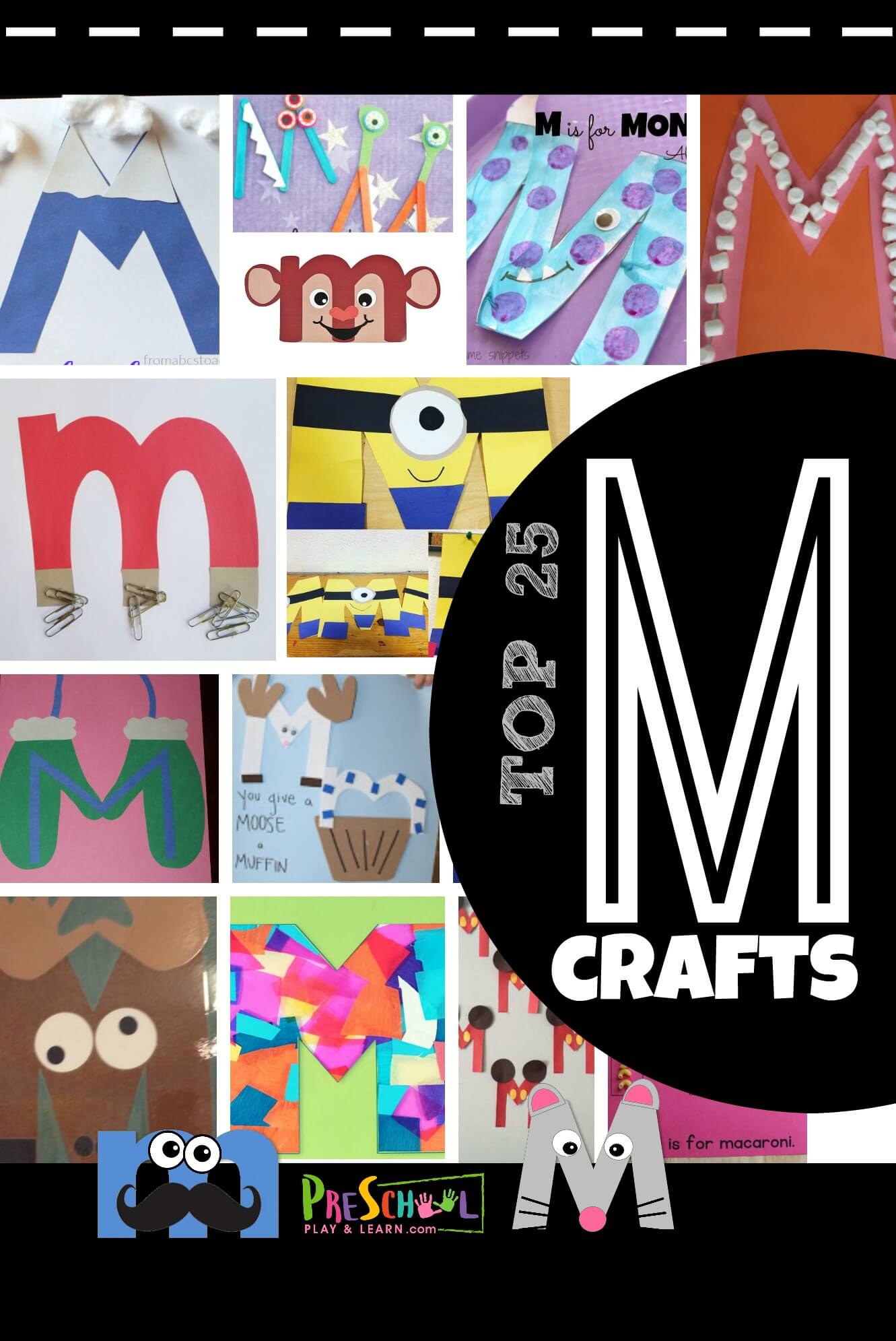 Top 25 Letter M Crafts
