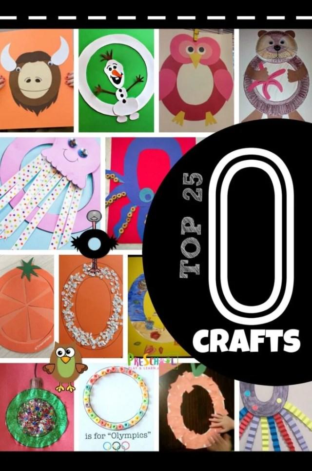 Top 25 Letter O Crafts