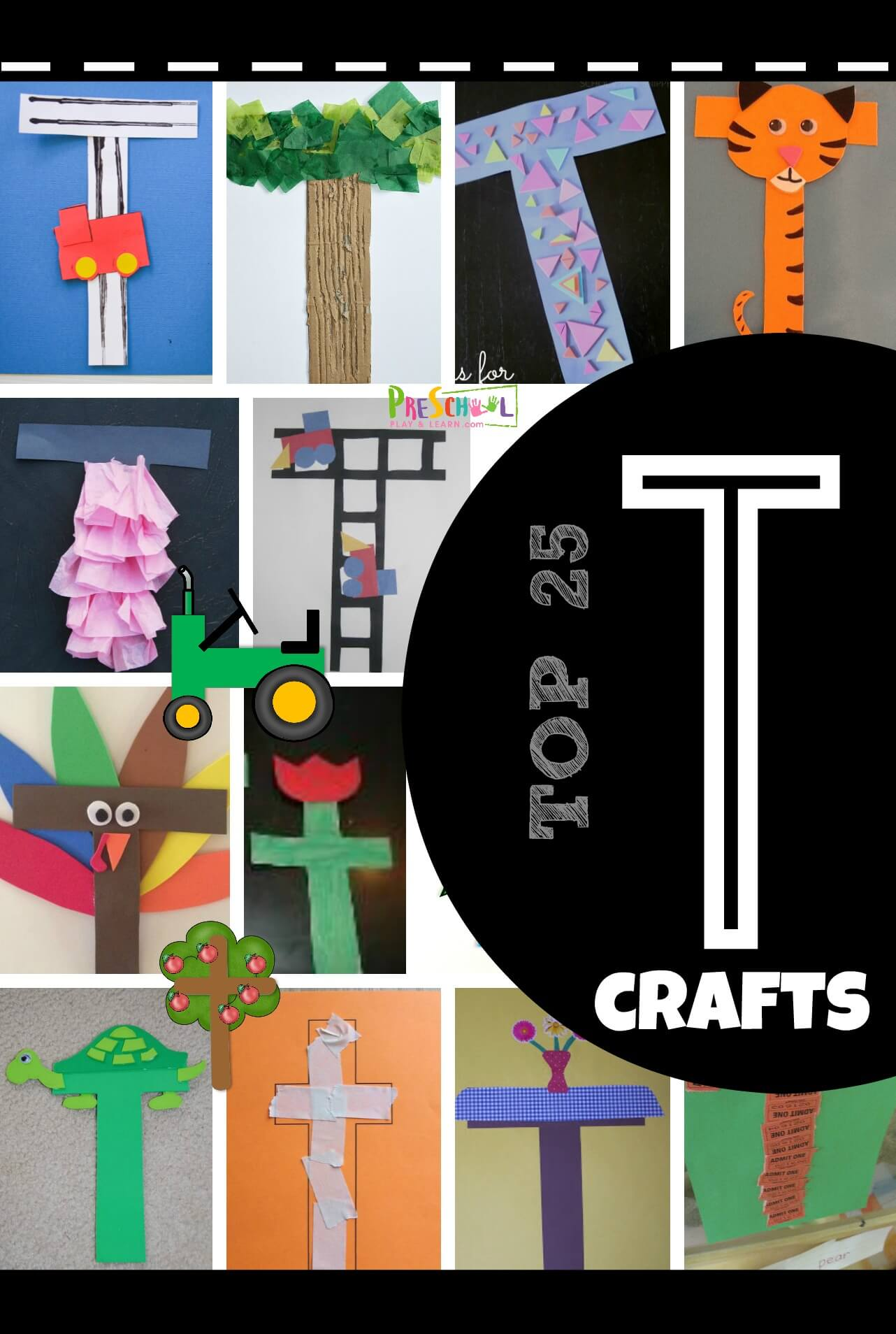 Top 25 Letter T Crafts
