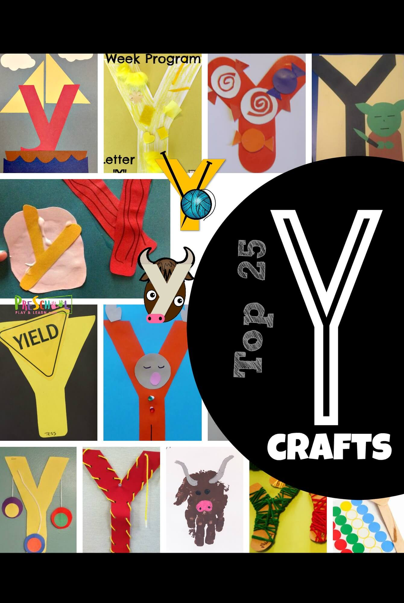 Top 25 Letter Y Crafts
