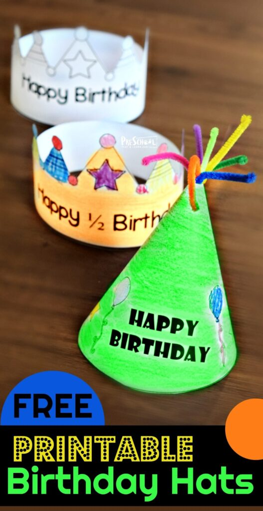 Printable Birthday Hat