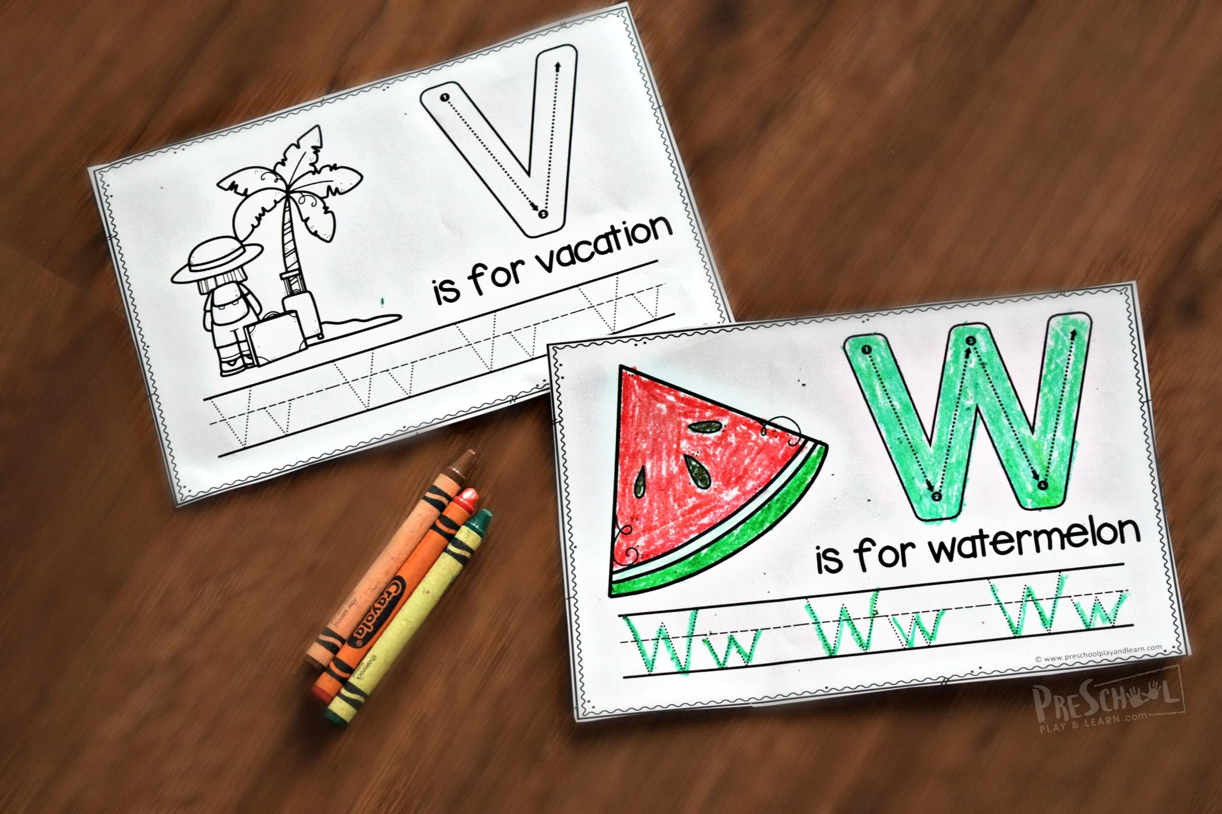 Free Summer Handwriting Worksheets For Kids