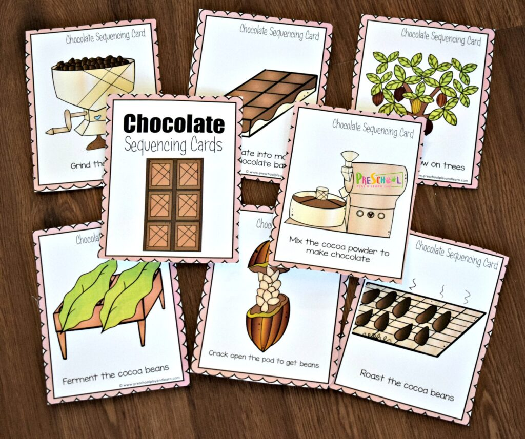 Farm Sequencing Cards