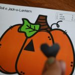 Free Roll A Jack O Lantern Printable