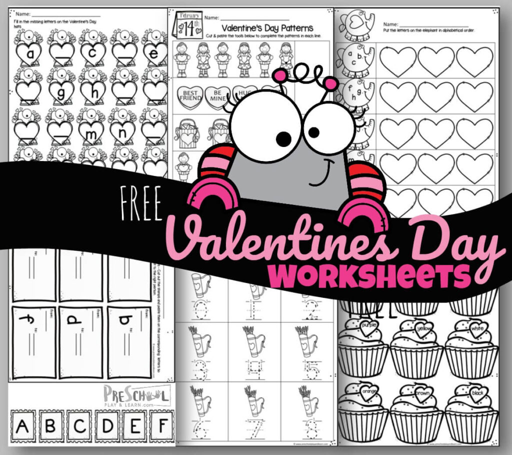 Tons Of Free Valentine S Day Worksheets
