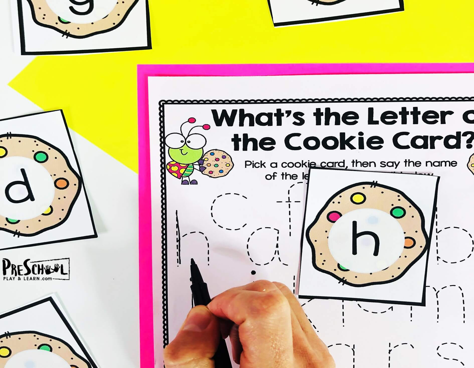 Free Cookie Lowercase Letter Tracing