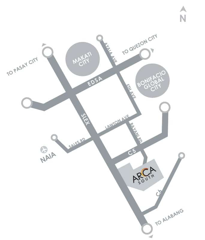 Arbor Lanes Location and Vicinity Map