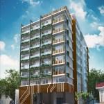 Centro Residences Mid Rise Condo Facade