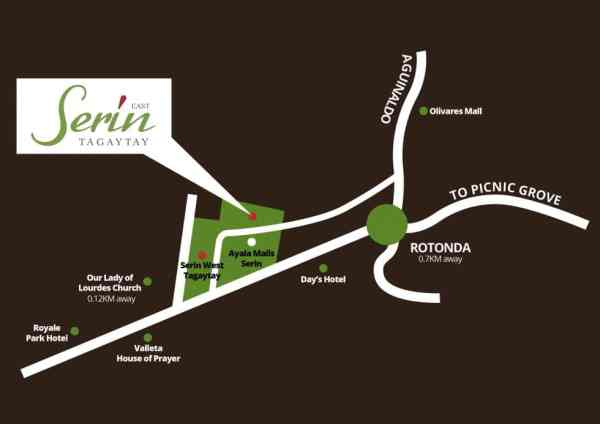 Serin East Tagaytay Condo For Sale